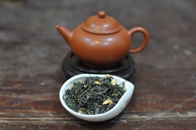 trà ướp hoa bưởi truyền thống