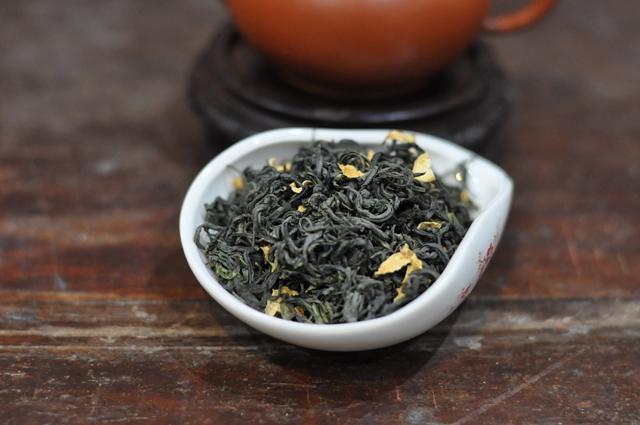 trà ướp hoa bưởi hà thành