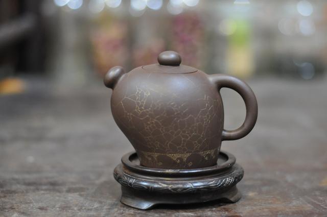 ấm trà tử sa nhật xuất