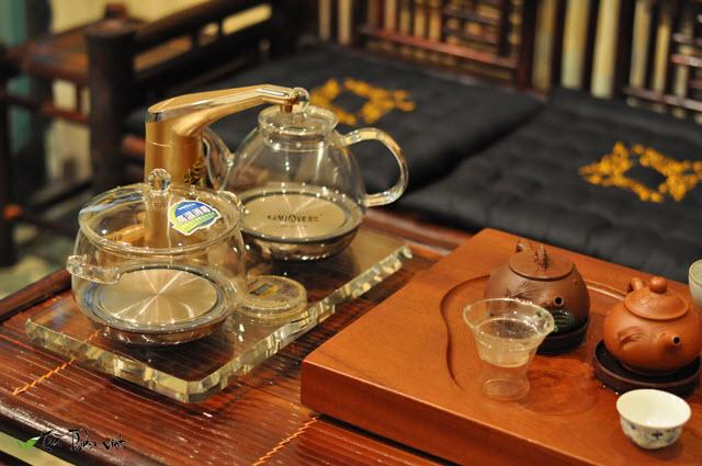 ấm đun nước pha trà thủy tinh đôi kamjove