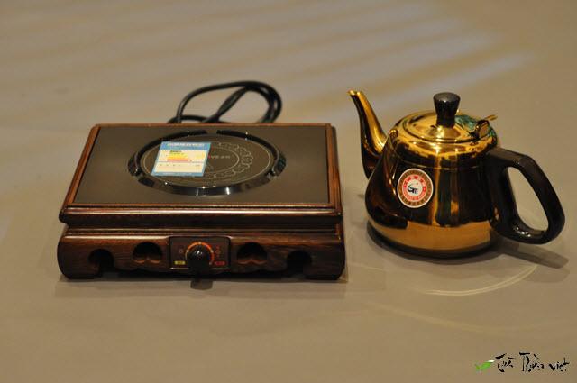 bộ ấm đun nước pha trà gỗ cánh gà kamjove